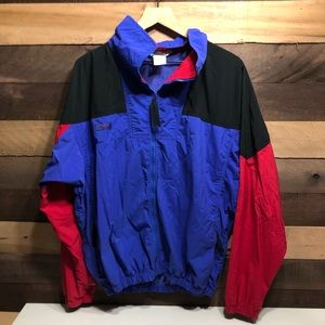 Vintage Men's Columbia Rainjacket size Large
